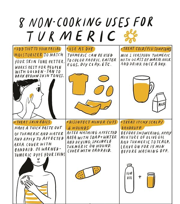 Non-Cooking Uses for Turmeric