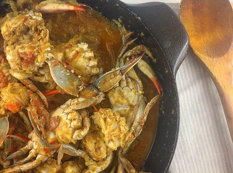 Masala Crab
