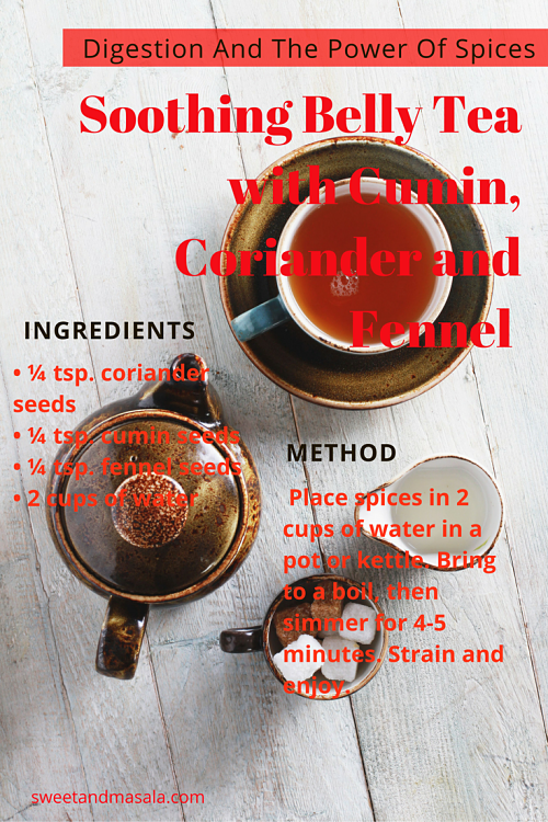 Cumin and Fennel Digestion Tea