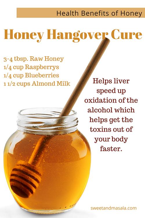 honey hangover cure