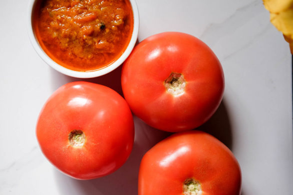 picy and Smokey Homemade Tomato Chutney