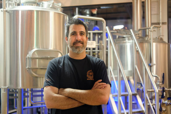 Chef Colin with Ballast Point Brewery