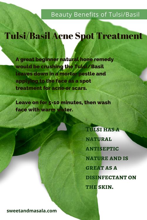 Beauty Benefits of Tulsi