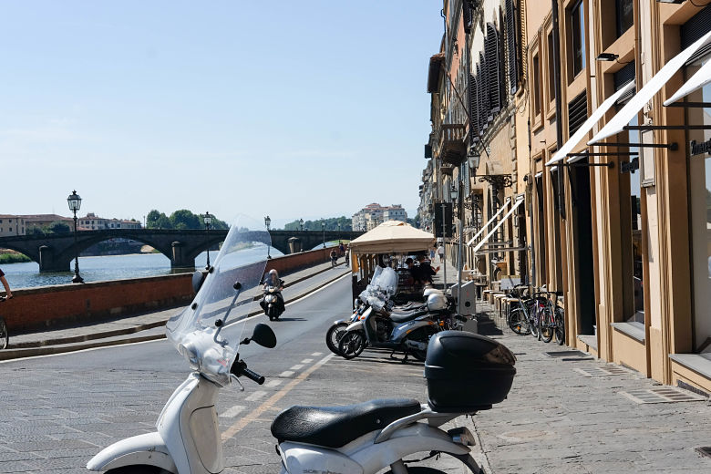 Vespa in Florence