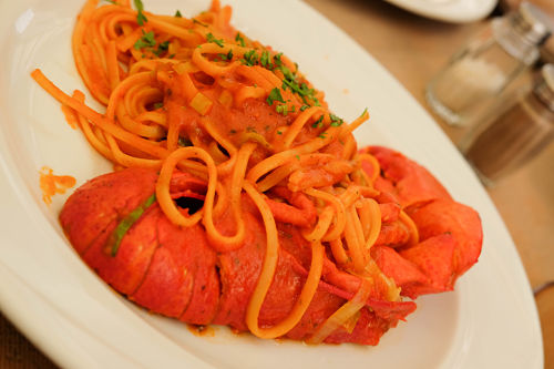 Linguine and Lobster