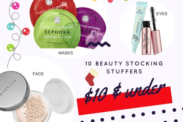 Cheap Beauty Products to put in Stockings this Christmas