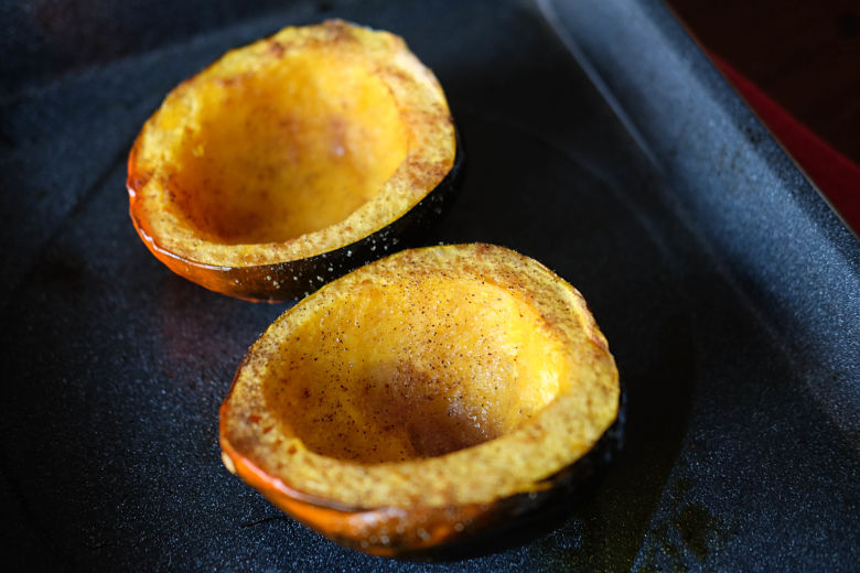 Roasted Acorn Squash Done Your Way