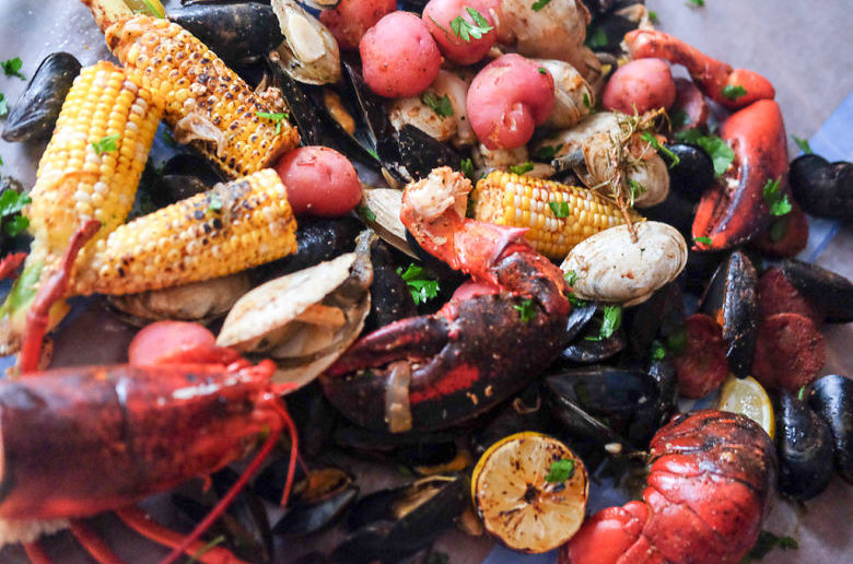 New England Style Clambake at Home