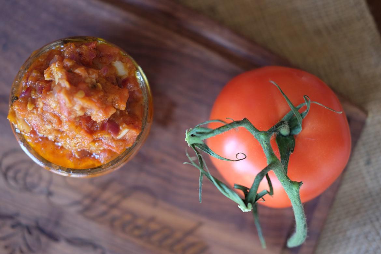 Sweet & Spicy Tomato Chutney Pizza Sauce