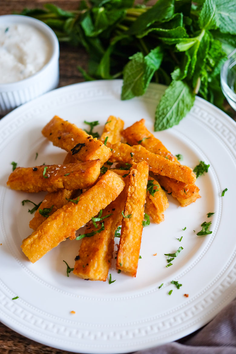 Chickpea Flour French Fries