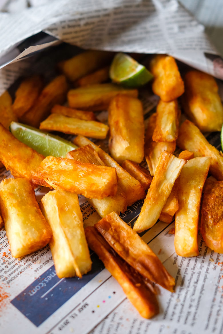 Mogo (Cassava) Chips with Chili & Lime