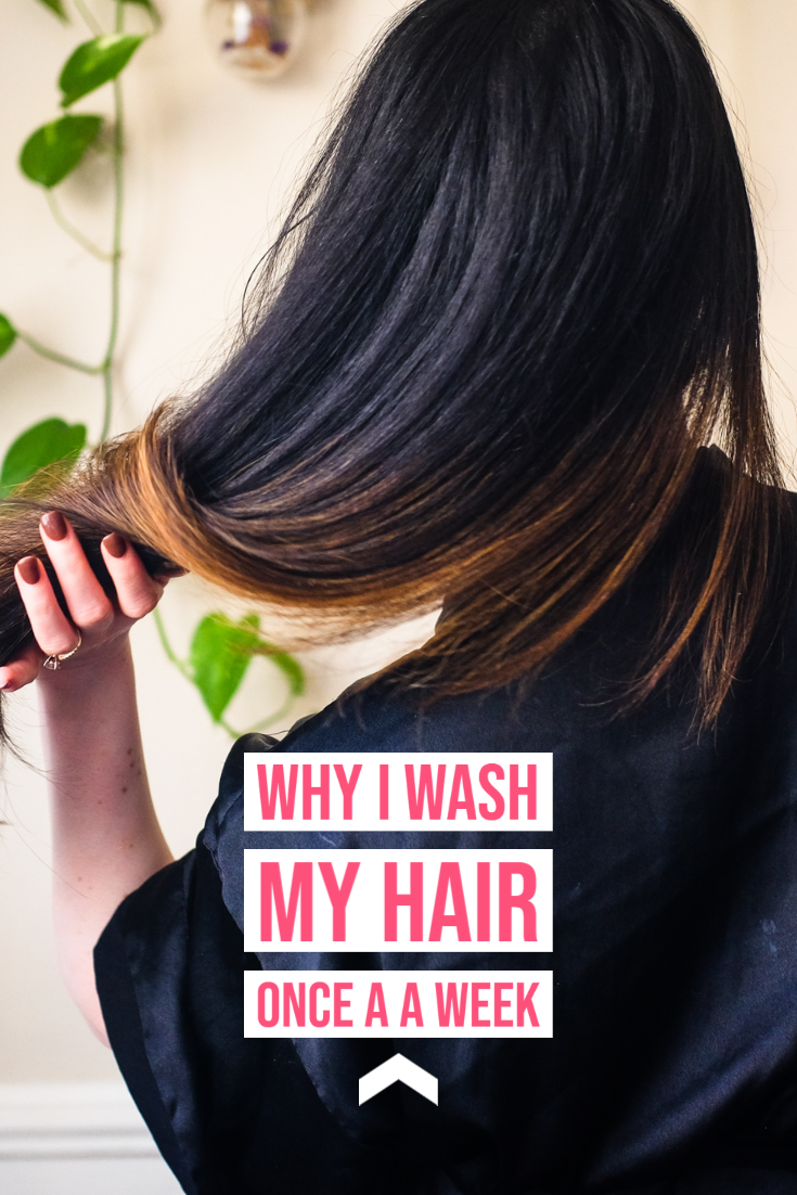 Why I Wash My Hair Once a Week