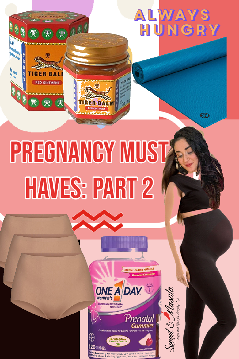 Must Haves for Pregnancy