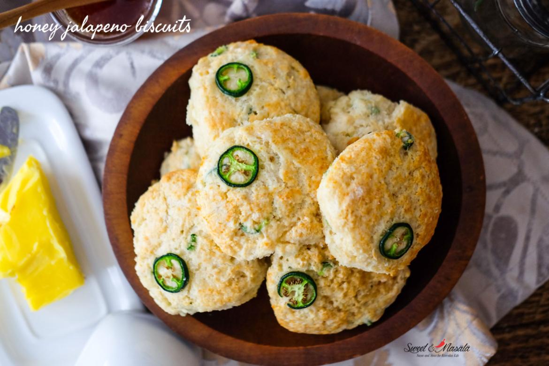 Honey Jalapeno Biscuits